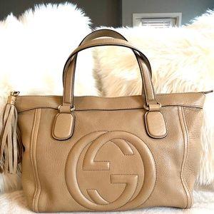 💯 Authentic Gucci Soho Tassel bag